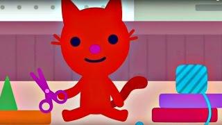 Мастерская Sago Mini. Котенок и Кукольный Театр. Игры для детей - обзор