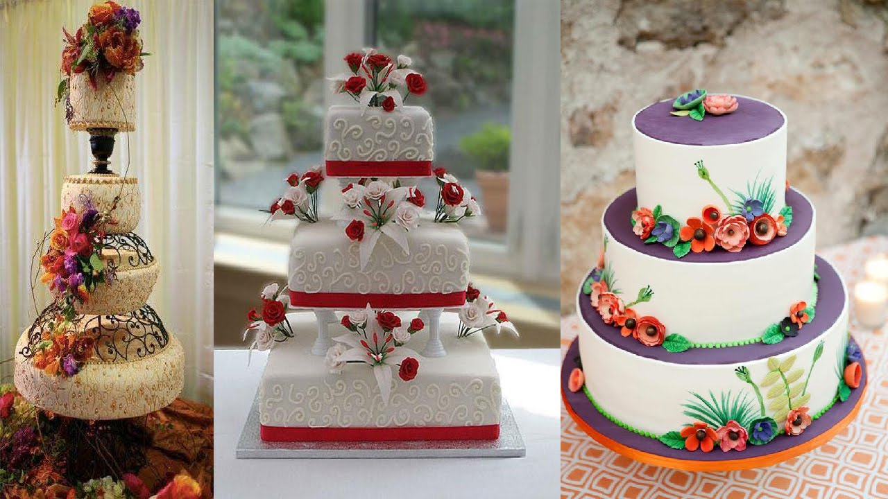 Awesome Wedding Cake Decorating Ideas Youtube