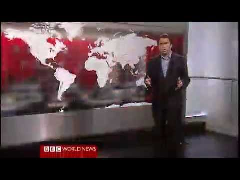 A differently presented edition of BBC World News with Ros Atkins(#BBCRos)
