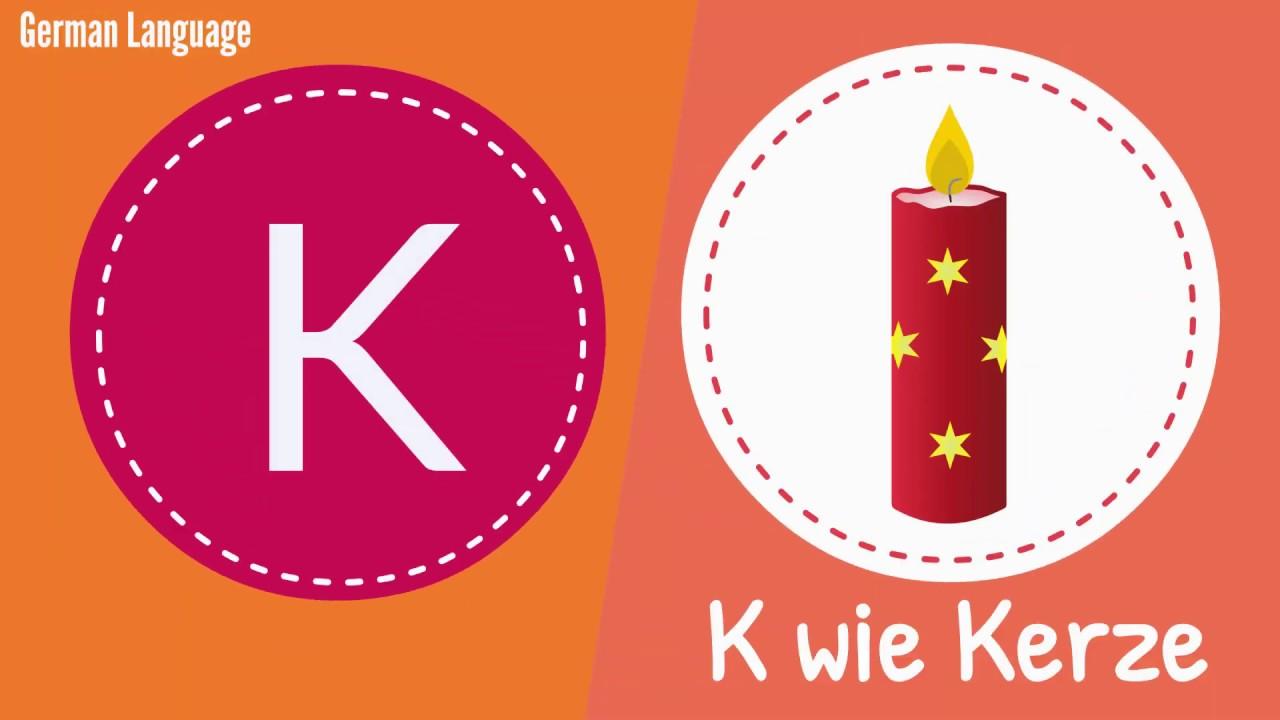 deutsch lernen alphabet k  youtube