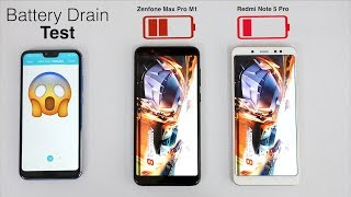 Redmi Note 5 Pro Vs Asus Zenfone Max Pro M1 Battery Drain Test | I GAVE UP😣😣