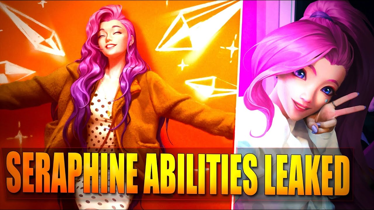 SERAPHINE ALL ABILITIES LEAKED - Echo New Mechanic - League of Legends