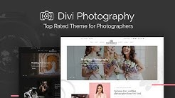 📷 Photography - Divi Child WordPress Theme