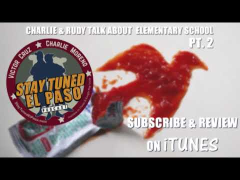 """The """"The Ketchup Story"""" - Rudy's grade school sketches - Charlie and Rudy talk grade school"""