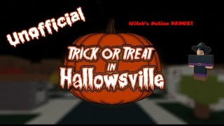 Roblox: Trick or Treat in Hallowsville - Witch's Potion Badge