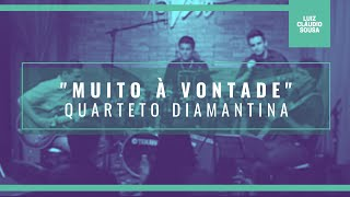"""Quarteto Diamantina - """"Muito à Vontade"""" (João Donato e Lysias Ênio)"""
