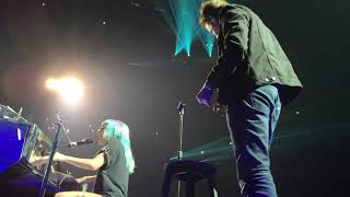 Lady Gaga and Bradley Cooper singing Shallow Live Park Theater Enigma (FULL VIDEO)