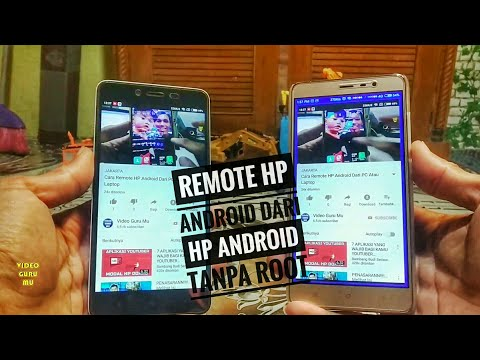 Cara Remote Android / Transfer Layar HP Ke HP Lain Tanpa Root