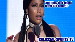(Hip Hop Talk) Nicki Minaj cancels another concert| Fans yell Cardi B's name to be petty!!!