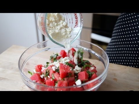Watermelon & Feta Salad | The Kitchen