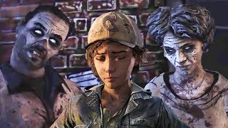 Clem Telling Her Parents Story to Violet, Lee, Luke & Kenny - The Walking Dead
