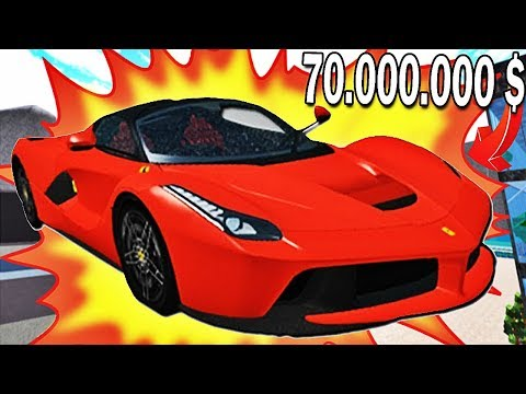 DÉTRUIRE UNE VOITURE À 70 000 000 $ ?! | Roblox !
