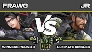 Game Nest Smash It Up: Frawg (Bayonetta/Donkey Kong) vs JR (Snake) - Winners Round 3