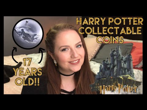 Opening Harry Potter Collector Coins from 2001! ReelCoinz Canadian Mint 3-packs and Display Board!