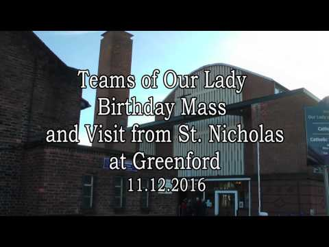 Teams of Our Lady Birthday Mass at Greenford