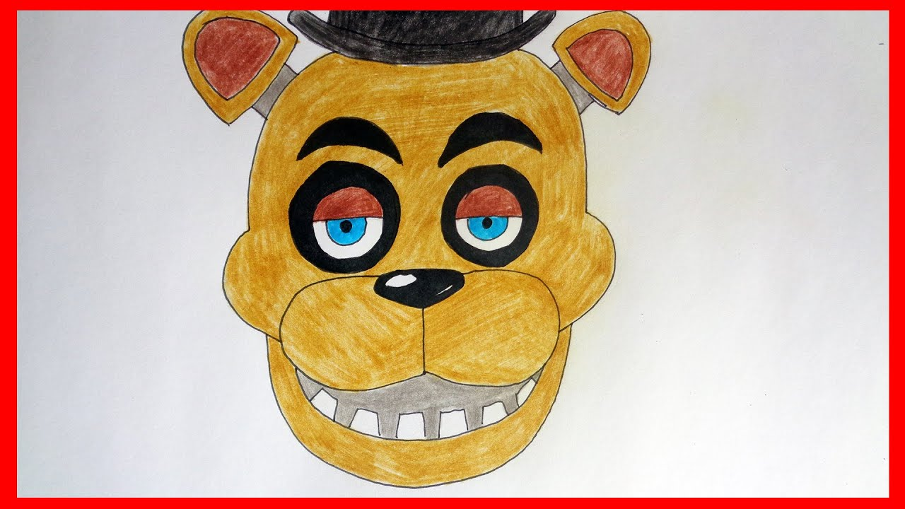 How To Draw Five Nights At Freddys 2