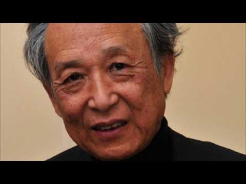 Gao Xingjian 高行健 (1940) novelist playwright Painter Nobel Prize in Literature Chinese
