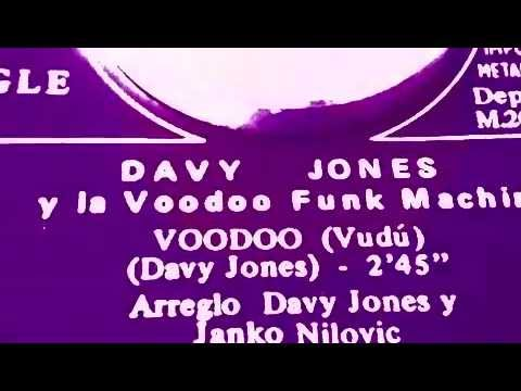 Voodoo ~  Davy Jones And The Voodoo Funk Machine