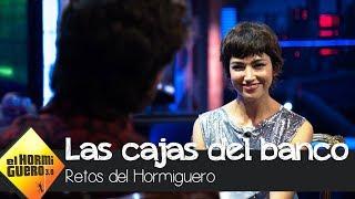 Ursula Corberó y Álvaro Morte se retan a las 'cajas del banco' - El Hormiguero 3.0