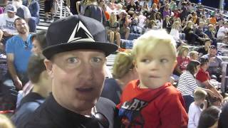 LITTLE KID TRAMPLED BY CROWD AT FOOTBALL GAME | DYCHES FAM