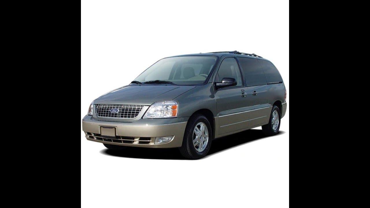 Ford Freestar Monterey 2005 Service Manual Repair Manual Wiring Diagrams Owners Manual Youtube