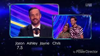 Melody Thornton and Alexander Demetriou skating in Dancing on Ice (27/1/19)