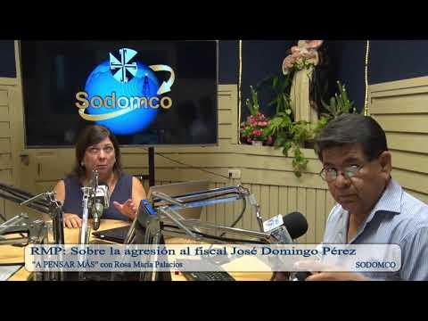 RMP: Sobre la agresión al fiscal José Domingo Pérez
