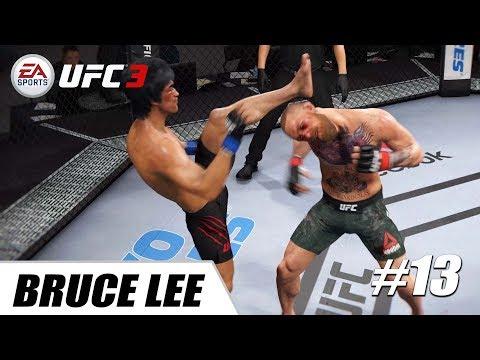 EA Sports UFC 3 - PS4 Pro 1080p 60fps / Conor McGregor Vs Bruce Lee #13