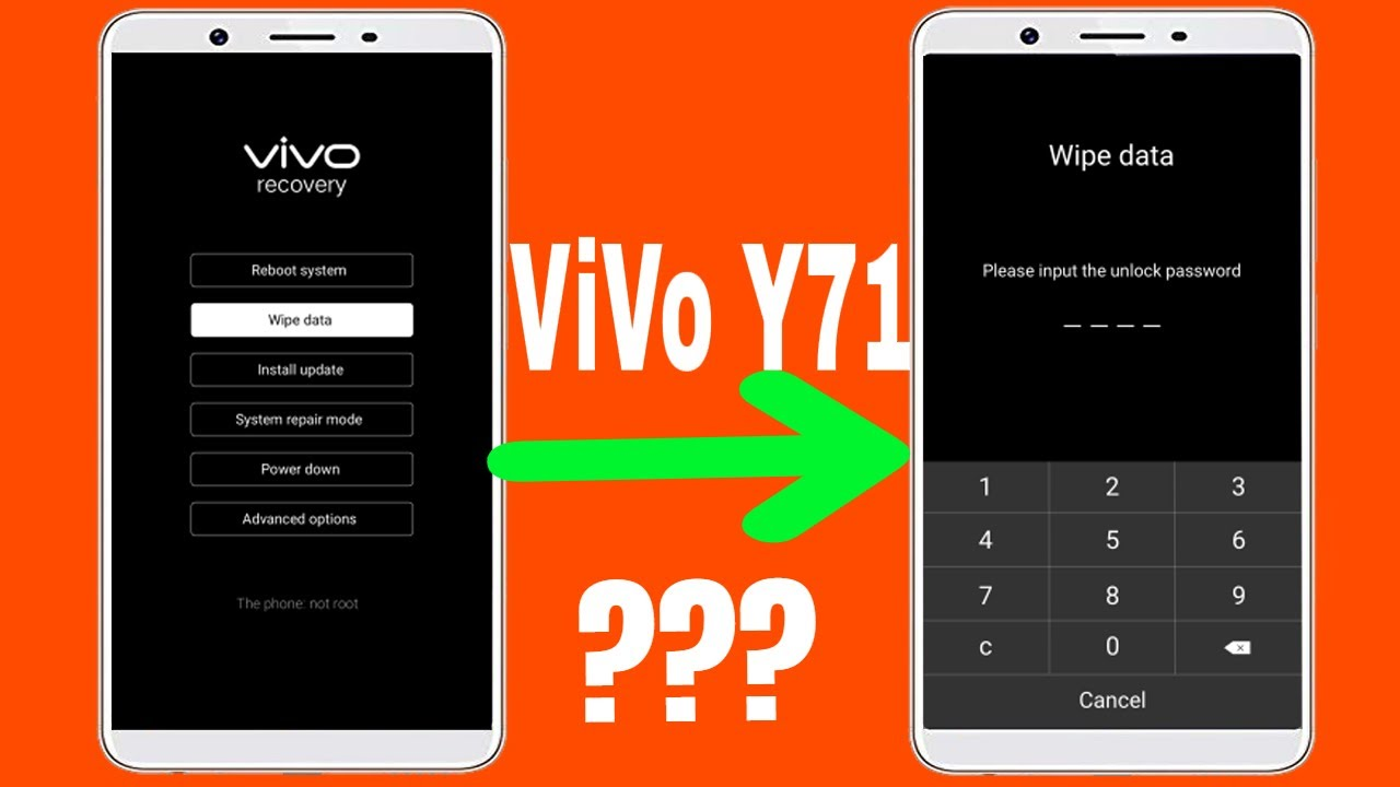 ViVo Y71 Hard Reset Problem/Password Showing While Wipe User Data