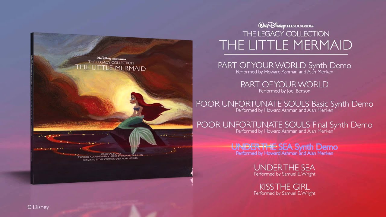 Walt Disney Records The Legacy Collection The Little Mermaid