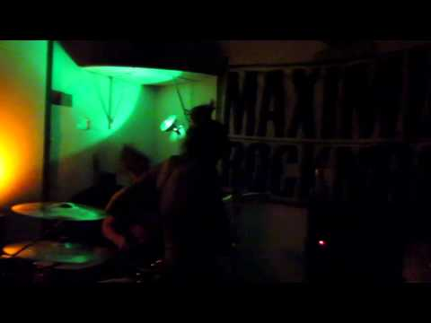 No Business (live) @ the Maximum Rocknroll benefit show in west Oakland 2015.5.16 (full set)