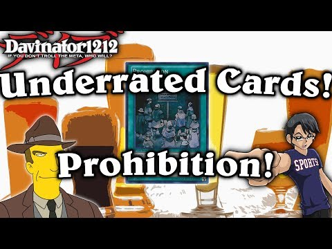 Underrated Cards!: Prohibition! No! Yu-Gi-Oh!