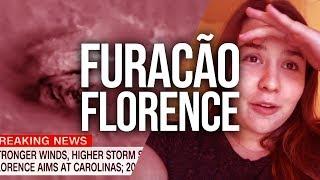 FURACÃO FLORENCE NA MINHA CIDADE - CAROLINA DO NORTE