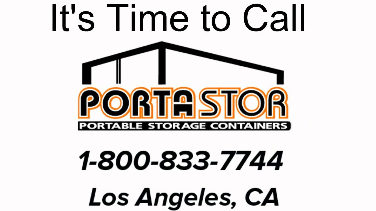Rent Portable Storage Containers in Los Angeles YouTube