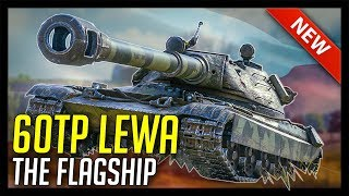 ► 60TP Review, The Flagship! - World of Tanks 60TP Lewandowskiego Gameplay - Patch 1.1 Update