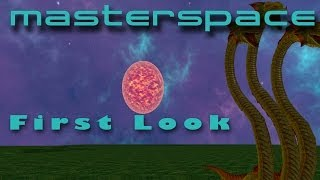 Masterspace | First Look | Voxel Space Exploration