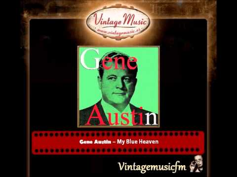 GENE AUSTIN CD Vintage Vocal Jazz. My Blue Heaven , Carolina Moon , Jeannine