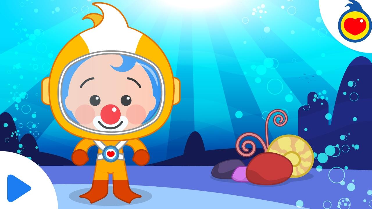Plim plim cap tulo una aventura bajo el mar dibujos for Fondos de piscinas dibujos