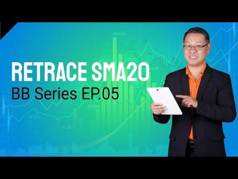 Forex สอน เทรด : 223 - BB Ep.05 - Retrace SMA 20