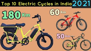 Top 10 Best Electric Cycles In India 2021 - e Bikes