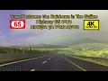 Amazing Rainbows in The Galilee Israel Travel on Highway 65 winter 4K קשת בענן כביש 65 החדש חורף