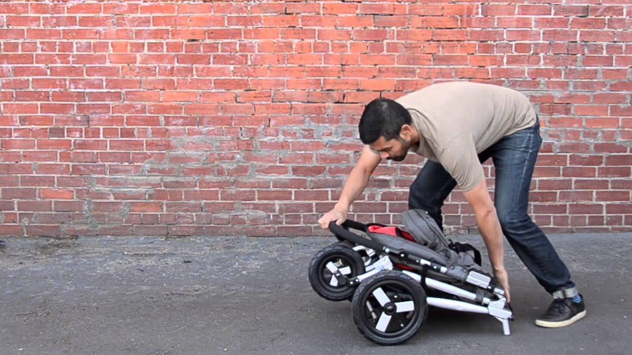 Bumbleride In 4 All Terrain Stroller Fold Video