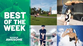 Handstands, Soccer & Hula Hoop Tricks | Best of the Week