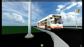 (ROBLOX) SAUGA TRANSIT || 2005 New Flyer D40LF 0549 on Route 76 | Brief Ride-along