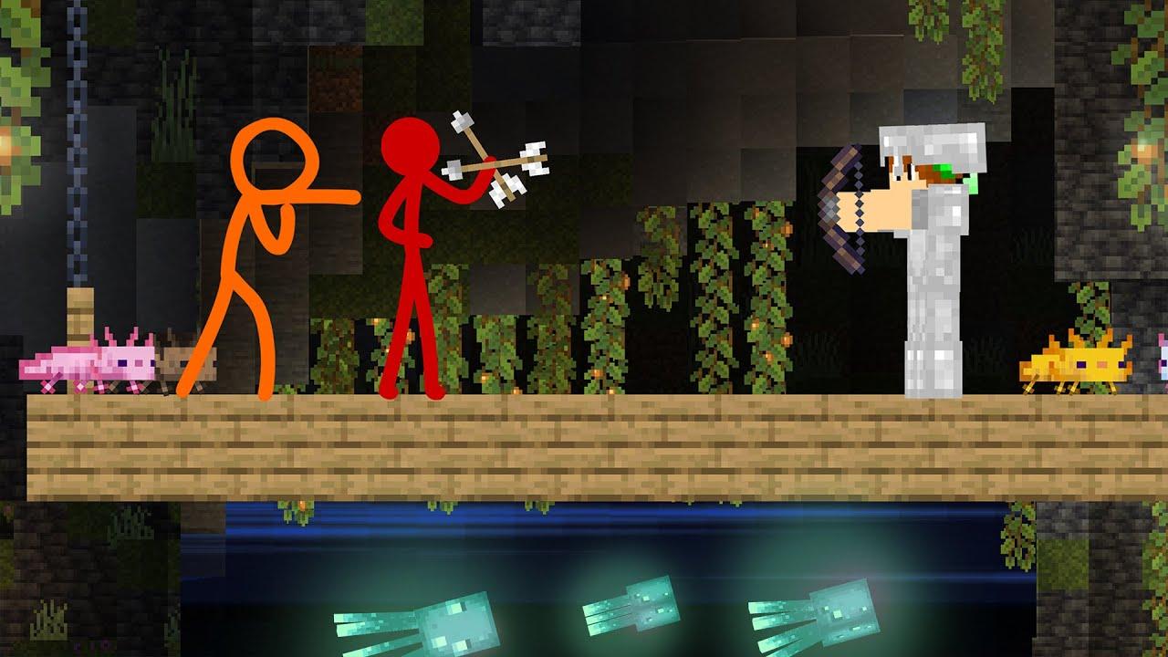 Lush Caves - Animation vs Minecraft  | AvG Reacts!