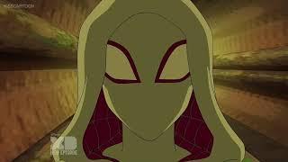 Spider-Gwen Scenes In Ultimate Spider-Man Part 2