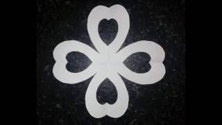 Easy paper cutting design | paper art