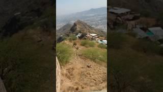ajmer sharif seen from hight taragarh