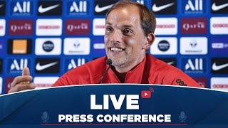 VIDEO: Conférence de presse de Thomas Tuchel avant Stade Brestois  Paris Saint-Germain