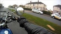 Motorcycle glasgow paisley irvine filtering speed fuel etc